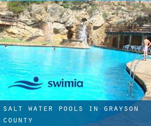 Salt Water Pools in Grayson County