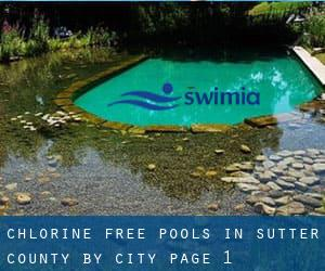 Chlorine Free Pools in Sutter County by City - page 1