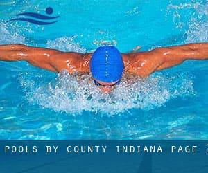 Pools by County (Indiana) - page 1
